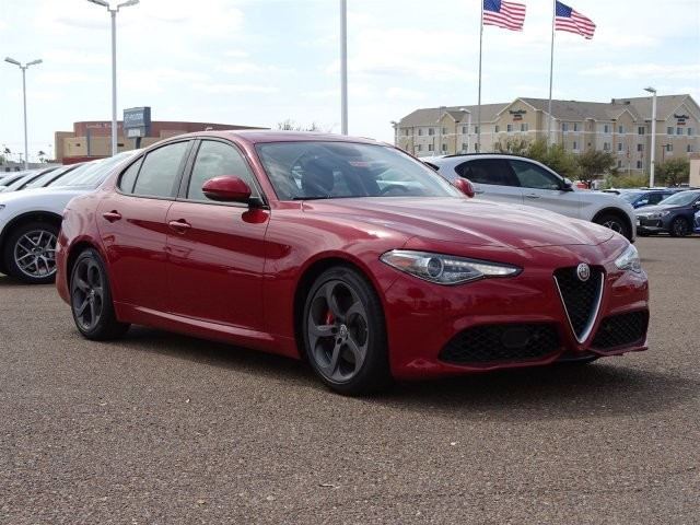 new 2018 alfa romeo giulia ti sport rwd sedan in laredo af5475 brown alfa romeo. Black Bedroom Furniture Sets. Home Design Ideas